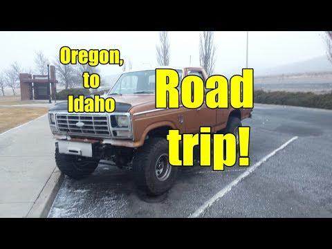 Truck Trip!   Vernonia, Oregon to Nampa, Idaho   Part 1