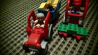 Traktor i kombajn dla dzieci; Tractor and harvester for kids