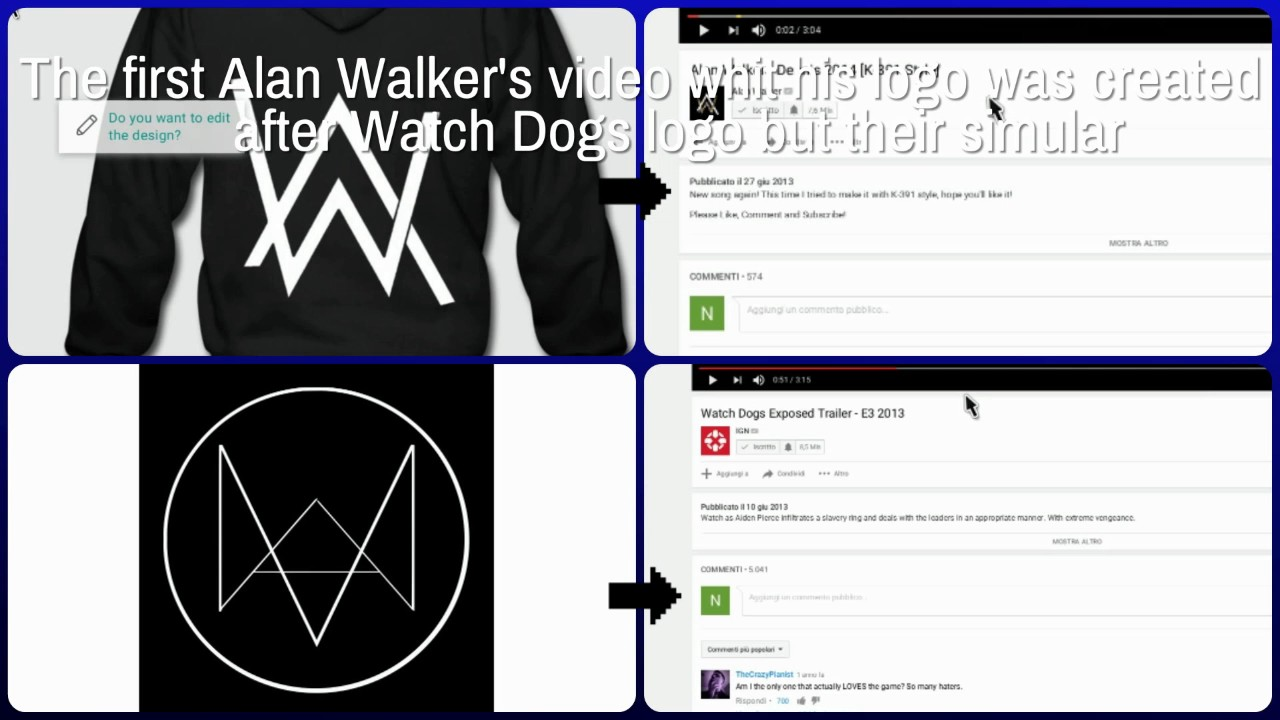 Alan walker logo is simular to watch dogs logo youtube alan walker logo is simular to watch dogs logo buycottarizona Image collections