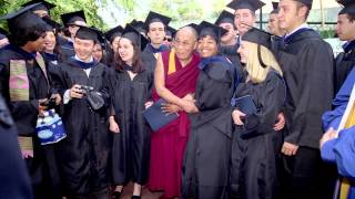His Holiness the Dalai Lama Visiting Emory University