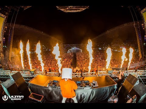 Marshmello  at Ultra Europe 2018 -