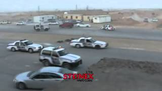 Crazy car accident + Police chase in Saudi Arabia! NEW  part 1