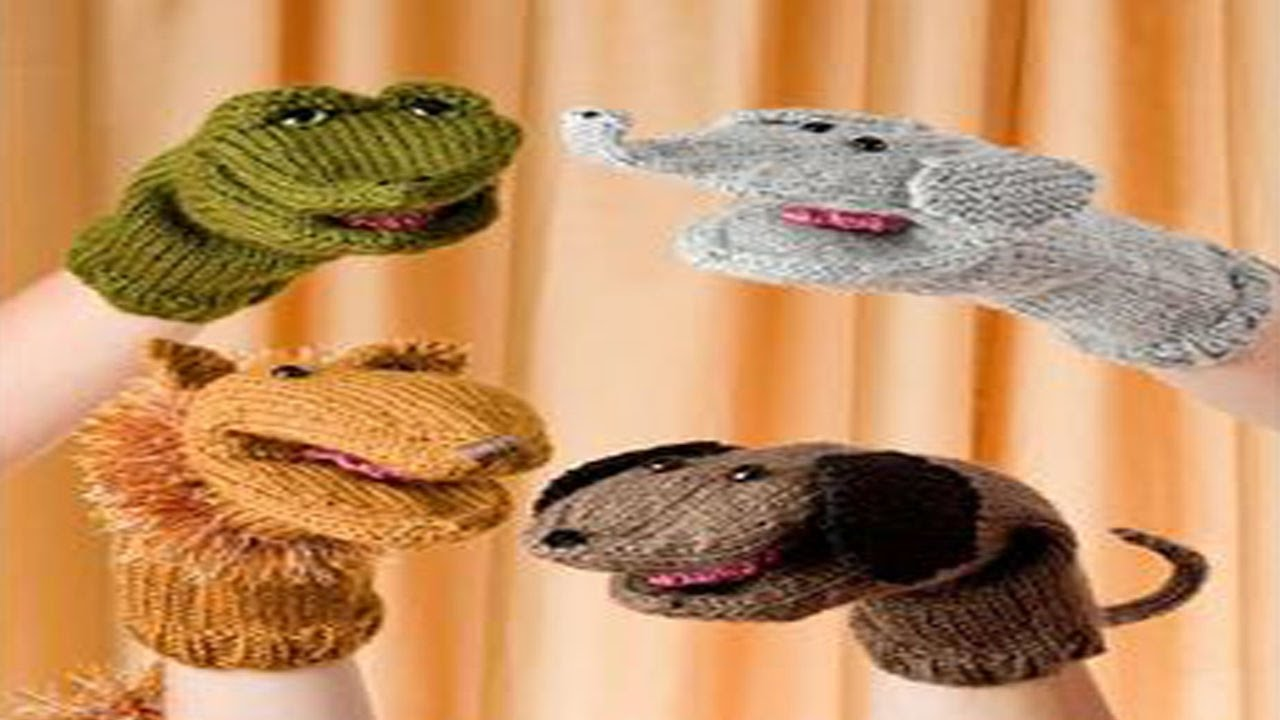 Marionetas en Crochet y Dos Agujas - Amigurumi - YouTube