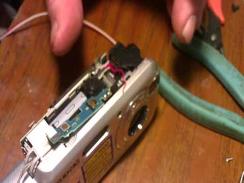 Sony S600 4 wire hack video hardwired.wmv