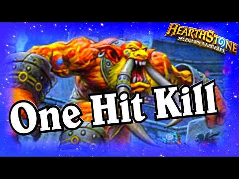 One Hit Kill ~ Hearthstone Heroes of Warcraft Blackrock Mountain ~ Priest Decklist