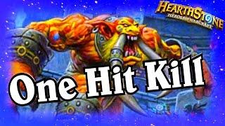 One Hit Kill ~ Hearthstone Heroes of Warcraft Blackrock Mountain ~ Priest Decklist