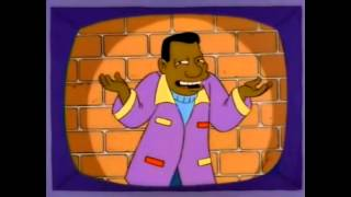 Black Guys Drive a Car Like This - Simpsons clip