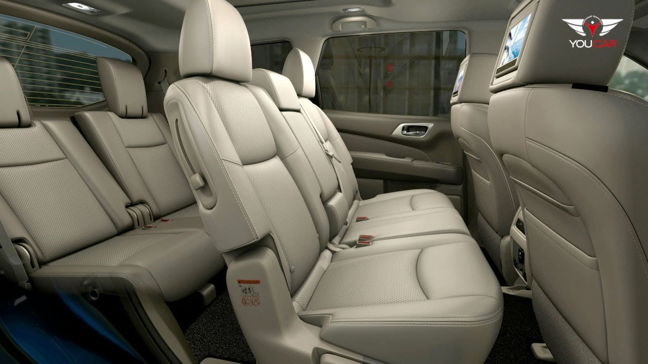 2013 Nissan Pathfinder INTERIOR: Seats - YouTube