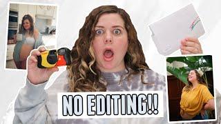 Disposable Camera Photoshoot Challenge (no editing!!)