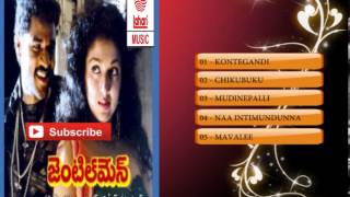 Telugu Old Songs | Gentleman Telugu Movie Songs | Karaoke