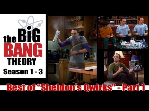 "Best of Big Bang Theory  - ""Sheldon's Qwirks"" Part 1 (of 3)"