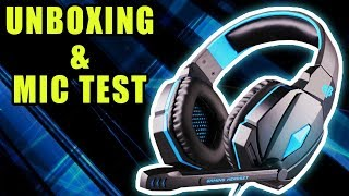 My Cosmic Byte G4000 Gaming Headset Unboxing and Mic Test