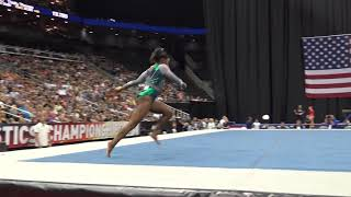 Simone Biles -  Floor Exercise - 2019 U.S. Gymnastics Championships - Senior Women Day 1