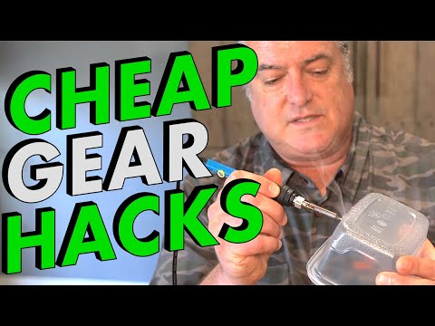 Cheap Cooking Gear Hacks   Motorcycle Camping