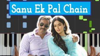 🎹 Sanu Ek Pal Chain - Raid || EASY Piano Tutorial/Cover by HB Productions