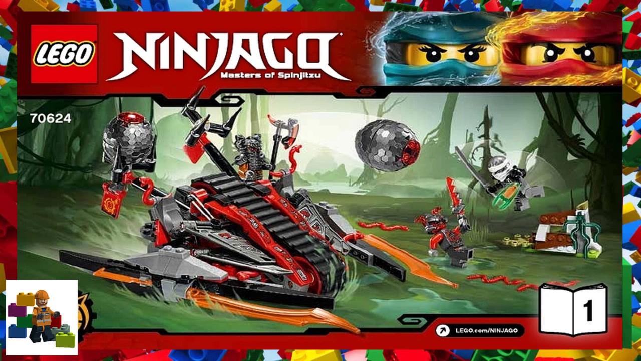 lego ninjago movie instructions