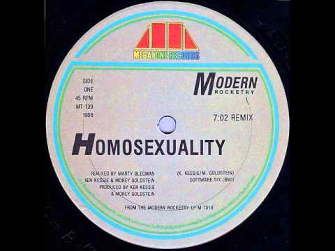 Modern Rocketry - Homosexuality
