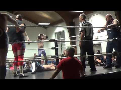 Joshua Strong & Cody Clark Vs. Wild N' Young Vs. Tyler Foshie & Dave Crist Vs. WTM (ICWA; 2/9/2019)