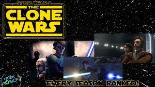 Ranking Every Season of Star Wars The Clone Wars!