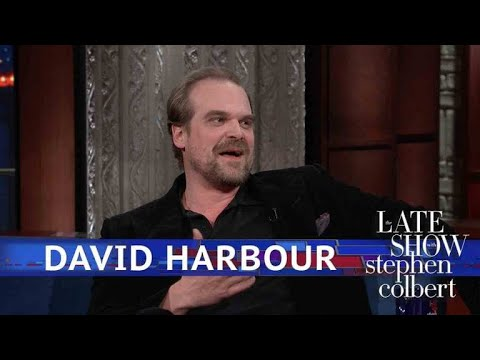 David Harbour Is (Literally) The Definition Of A Dad Bod