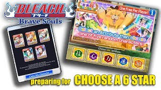 [Bleach Brave Souls] Choose a 6 star Strategy
