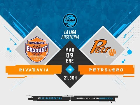 #LaLigaArgentina | 09.01 Rivadavia vs. Petrolero