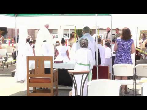 Madonna del Sasso School First Holy Communion Mass