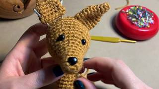 Sewing the Ears | Making Your Millenimal | Crochet Tutorials
