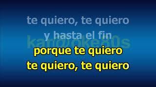 Rosario Flores / Te Quiero karaoke