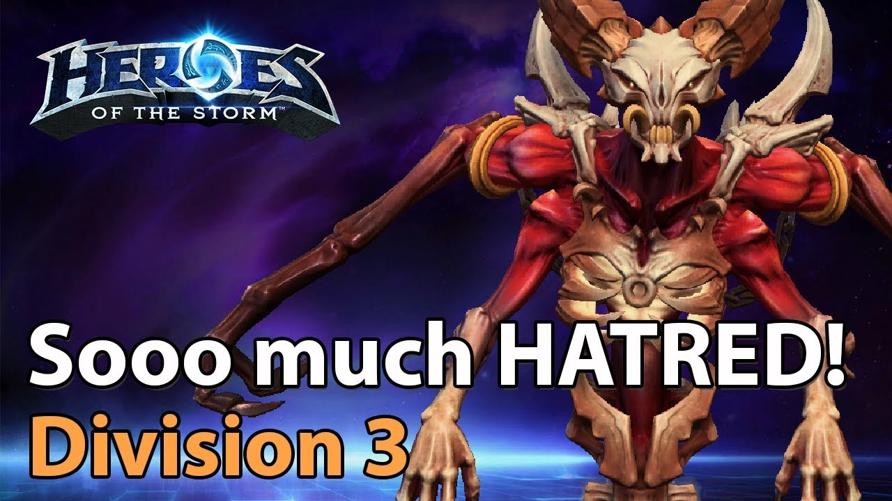► Heroes of the Storm - Mephisto action in Division 3 - Heroes Lounge