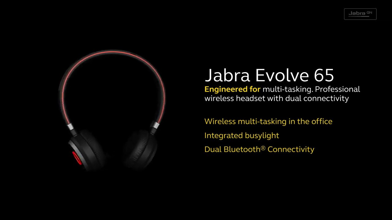 Jabra Evolve 65 Headset Youtube
