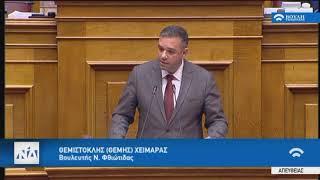 Ομιλία Θέμη Χειμάρα  ν/σ  εκσυγχρονισμός της ΔΕΗ, ιδιωτικοποίηση της ΔΕΠΑ και στήριξη των ΑΠΕ.
