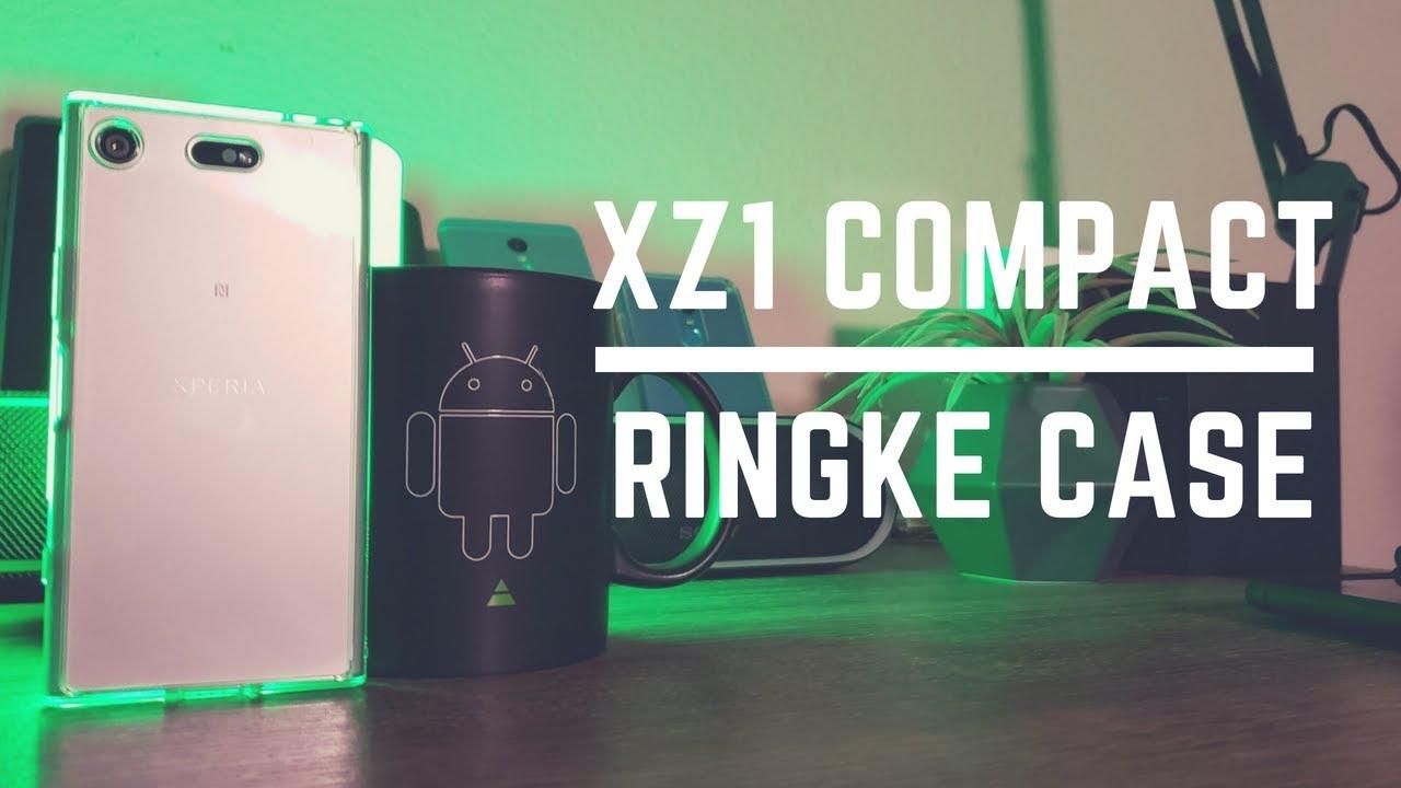 size 40 aecb7 f7e5d Sony Xperia XZ1 Compact Clear Case - Ringke Fusion