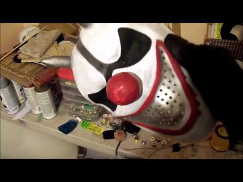 Drive-Thru (2007) Horny the Clown meat cleaver & a custom-made mask