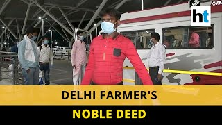 Covid-19: Delhi farmer buys air tickets to send home his 10 workers
