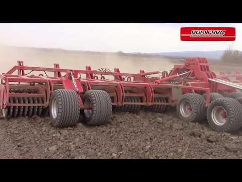 AGRI FARM Rückverfestigungswalze AGRI KRON 12m    21t Gesamtgewicht !!