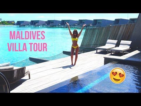 INSANE MALDIVES VILLA TOUR 2018