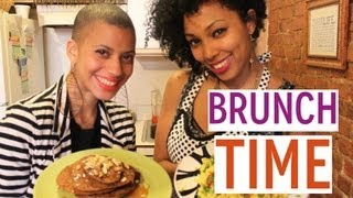 Vegan Tofu Scramble & Whole Wheat Spiced Pancake Recipes