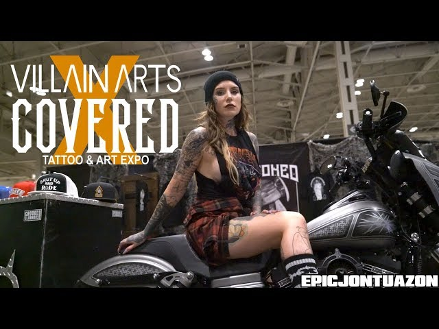 Villain Arts x Covered Tattoo & Art Expo 2019