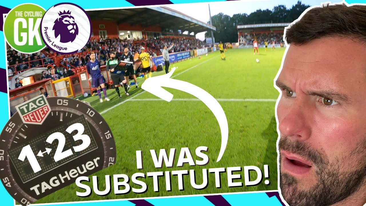 The Moment i Got SUBSTITUTED on the GoPro!
