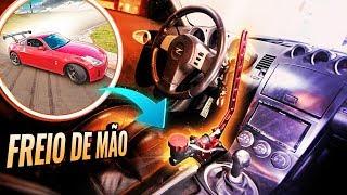 INSTALANDO FREIO DE MÃO NO 350Z DO RENATO