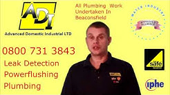 Plumbers In Beaconsfield - Plumbing, Powerflushing & Leak Detection Services