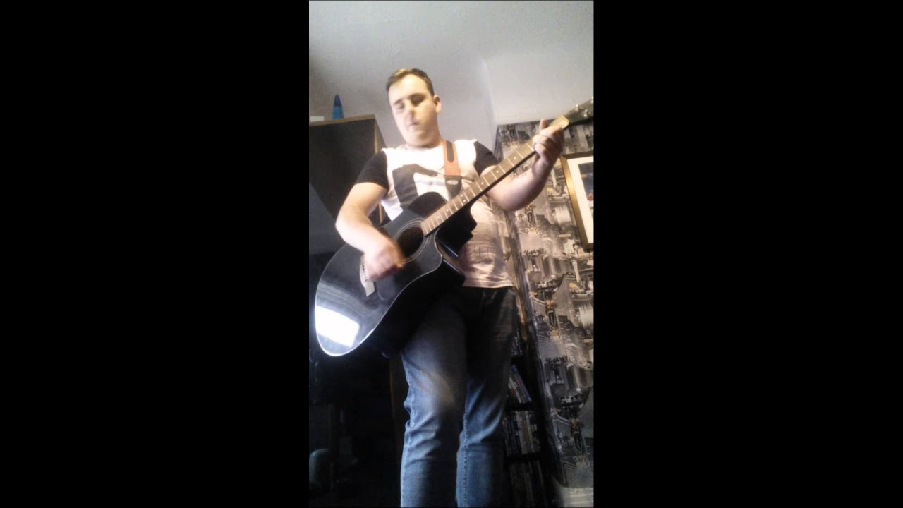 Wanted dead or alive (chords cover) - YouTube