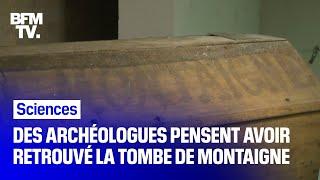 Des archéologues pensent avoir retrouvé la tombe de Montaigne