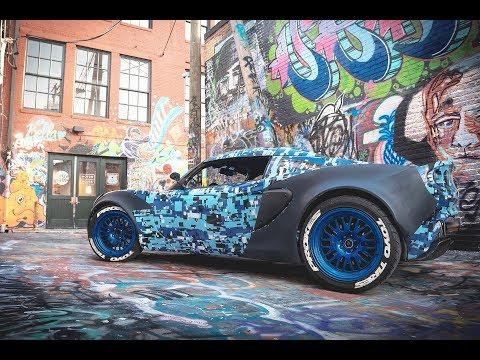 YummiR6 Lotus Elise l Industry Garage Flare Install (4K)