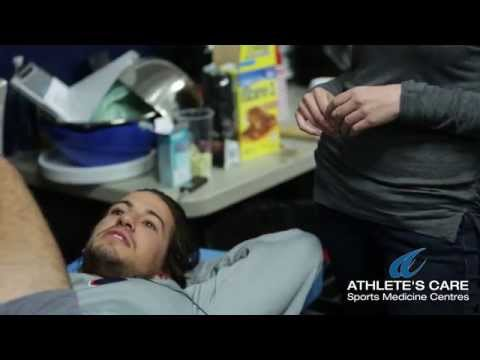 Offseason medical treatment with Flyers defenceman - Michael Zel Zotto