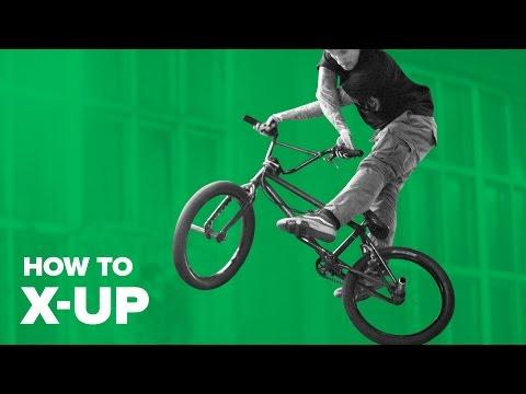 видео: Как сделать икс-ап на BMX (How to X-Up BMX)