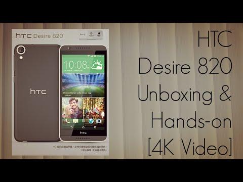 HTC Desire 820 Unboxing & Hands on - PhoneRadar