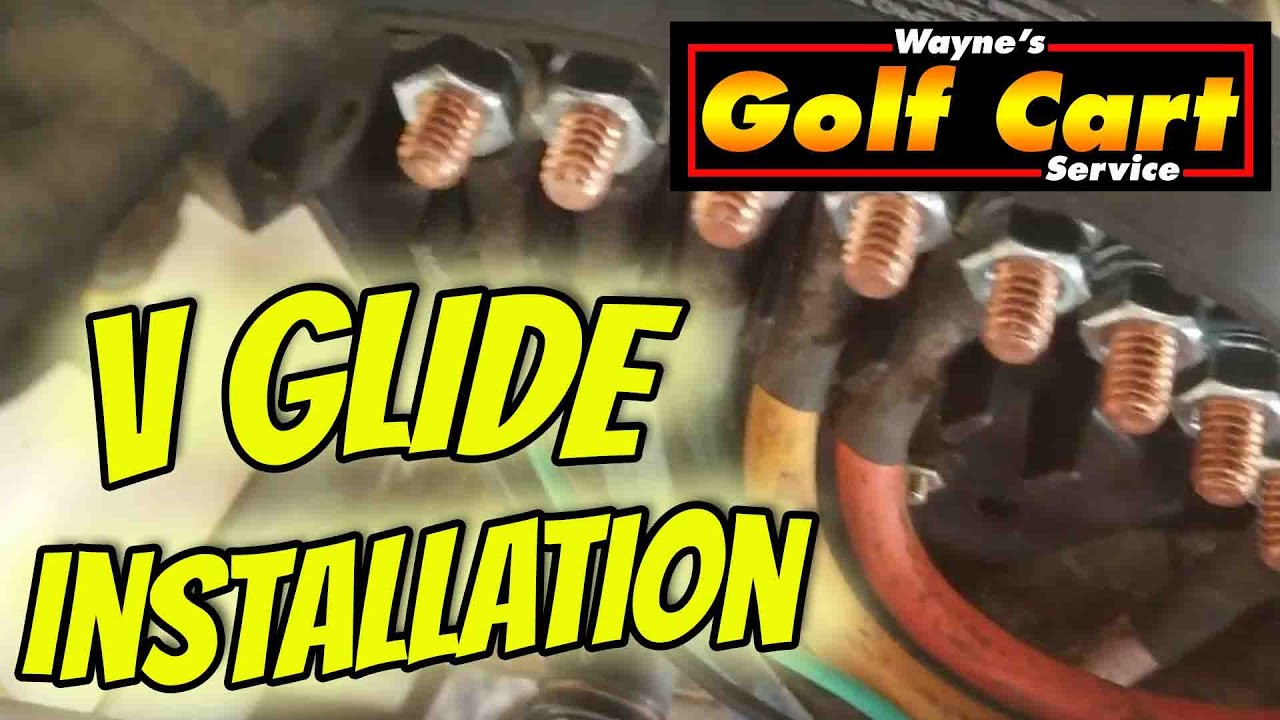 36 volt club car v glide wiring diagram how to install a v glide on a club car resister cart youtube  a v glide on a club car resister cart