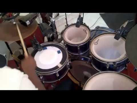 Ghana praise session; drummer's view